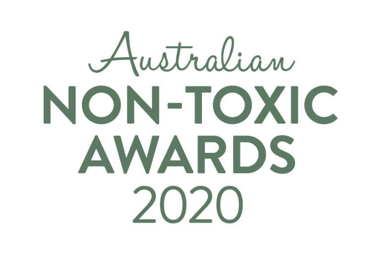 Australian Non-Toxic Awards 2020 logo