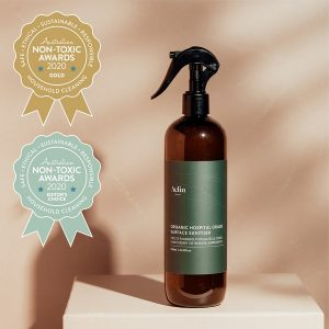 Aelin Organics – Organic Sanitising Surface Spray – Hospital Grade