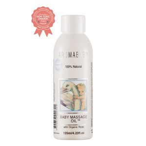 Aromababy - baby massage oil