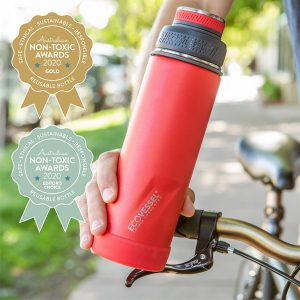 EcoVessel – The Boulder – Trimax Insulated Water Bottle With Strainer