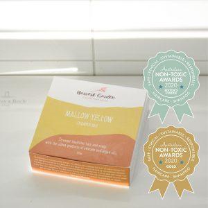 Gold Winner Harvest Garden - Mallow Yellow Shampoo Bar