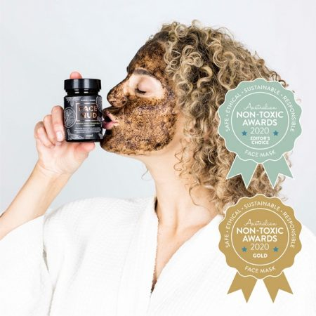 Gold Winner Herbs & Heart Face Mud