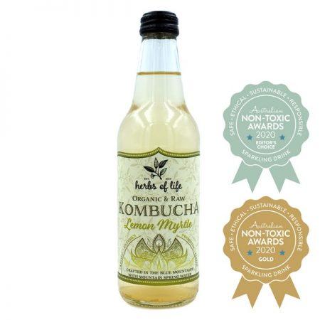 Herbs of Life – Organic & Raw Kombucha – Lemon Myrtle