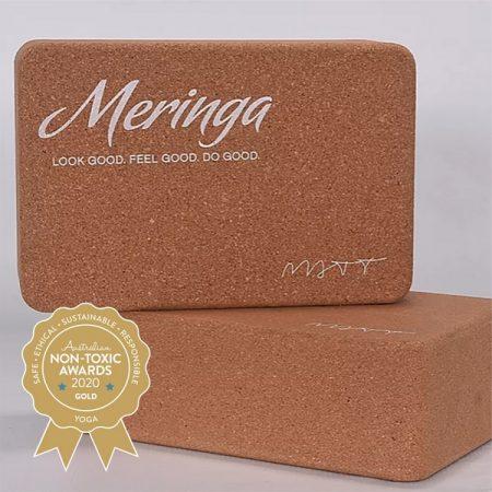 Meringa Cork – Natural Cork Yoga Block