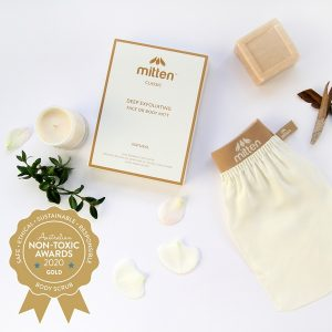 Gold Winner Mitten - Classic Mild Face or Body Exfoliator