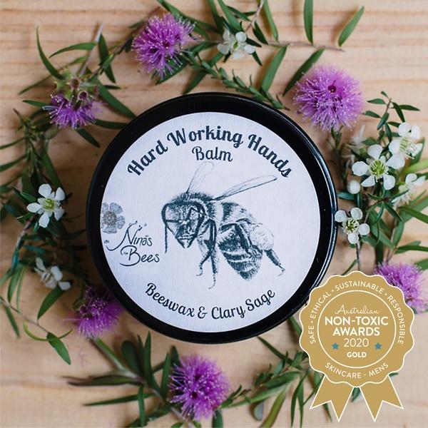 Gold Winner Nina's Bees - Hard Working Hand Balm