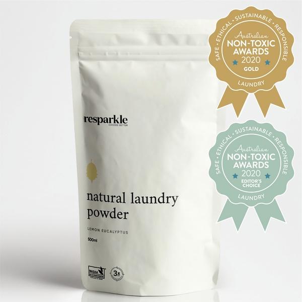 Resparkle – Natural Laundry Powder