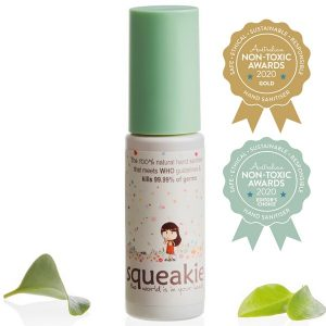 Squeakie - Original Lime & Palmarosa Hand Sanitiser