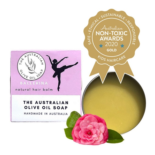 The Australian Olive Oil Soap – Ballerina Hair Balm