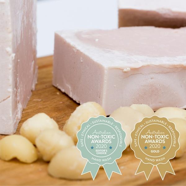 Gold Winner The Australian Soap Kitchen - Moisturising Macadamia Natural Soap
