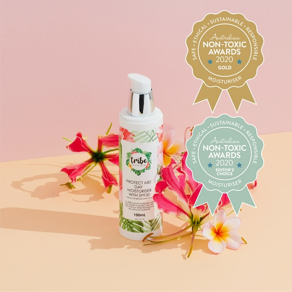 Gold Winner Tribe Skincare - Protect Me! Day Moisturiser with SPF30