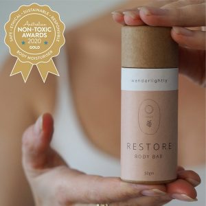 Gold Winner Wanderlightly - Restore Body Bar