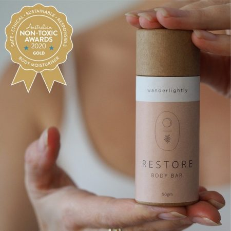 Gold Winner Wanderlightly - Restore Body Bar