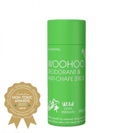 Woohoo - Deodorant & Anti-Chafe Stick (Wild)
