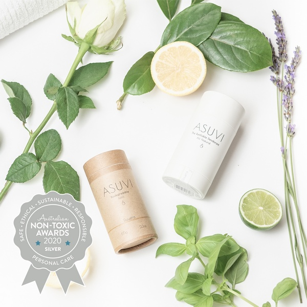 Asuvi – Elouera Refillable Deodorant