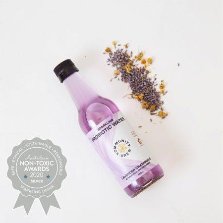 Kommunity Brew – Lavender & Chamomile Water Kefir