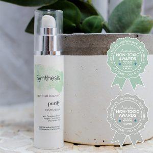 Silver Winner Synthesis Organics - Purify Moisturiser