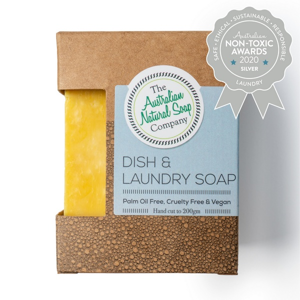 The Australian Natural Soap Company – Dish & Laundry Soap