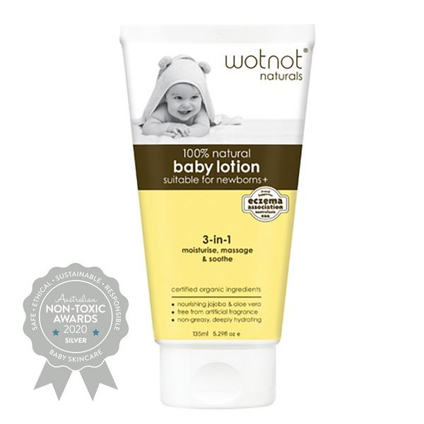 Wotnot – 100% Natural & Organic Baby Lotion