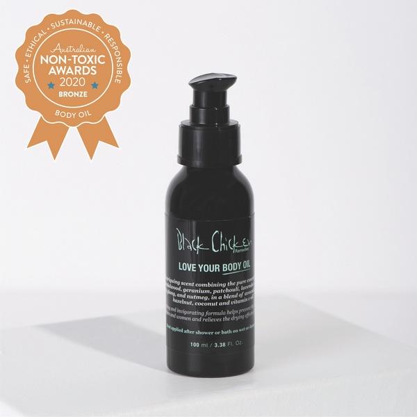 Bronze Winner Black Chicken Remedies - Love Your Body Oil