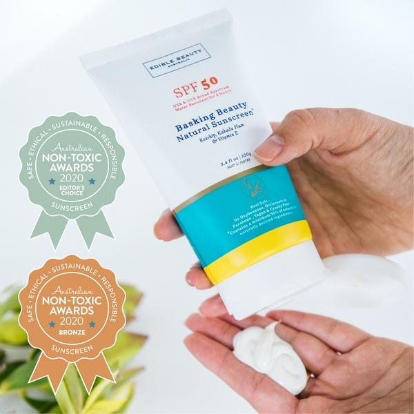 Edible Beauty Australia - Basking Beauty Natural Sunscreen