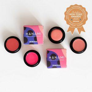 Bronze Winner Hanami Cosmetics - Mineral Cream Blush