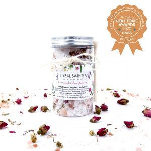 Bronze winner Mosaic & Moonlight - Herbal Bath Tea - Rose and Chamomile