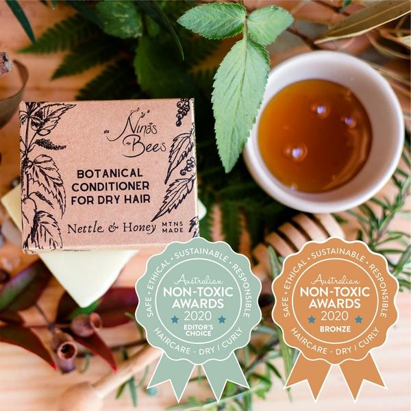 Bonze Winner Nina's Bees - Botanical Conditioner for Dry Hair