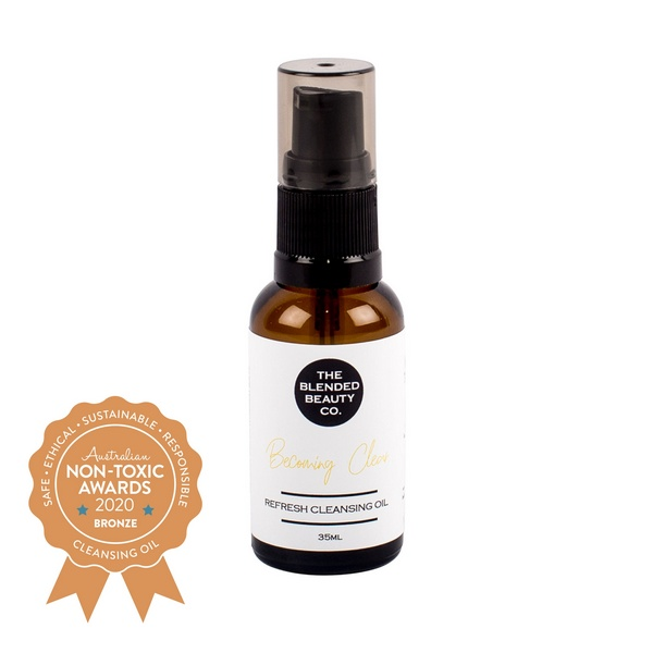 Bronze winner cleansing oil The Blended Beauty – Becoming Clear