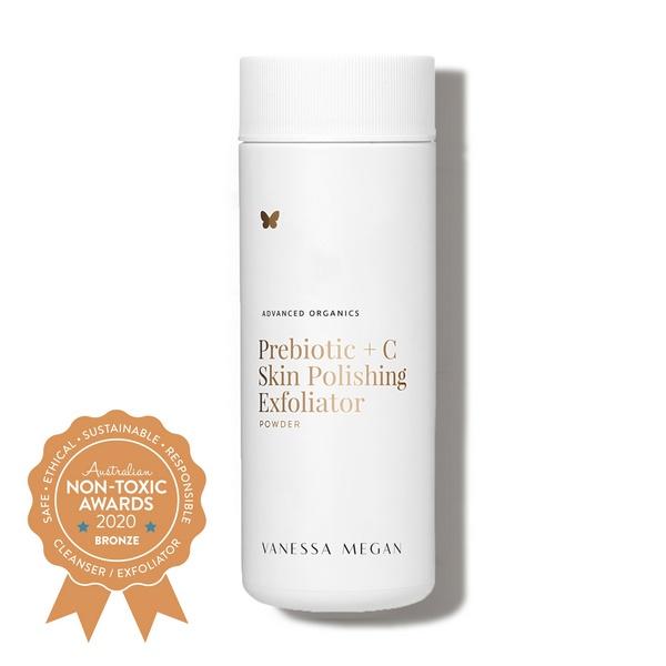 Vanessa Megan – Prebiotic + C Skin Polishing Exfoliator Powder - Bronze Winner - Australian Non-Toxic Awards 2020