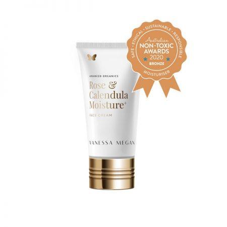Bronze Winner Vanessa Megan - Rose & Calendula Moisture + Face Cream