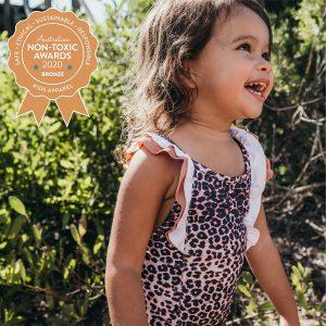 Zella Swim – Ivy Girls Leopard One piece