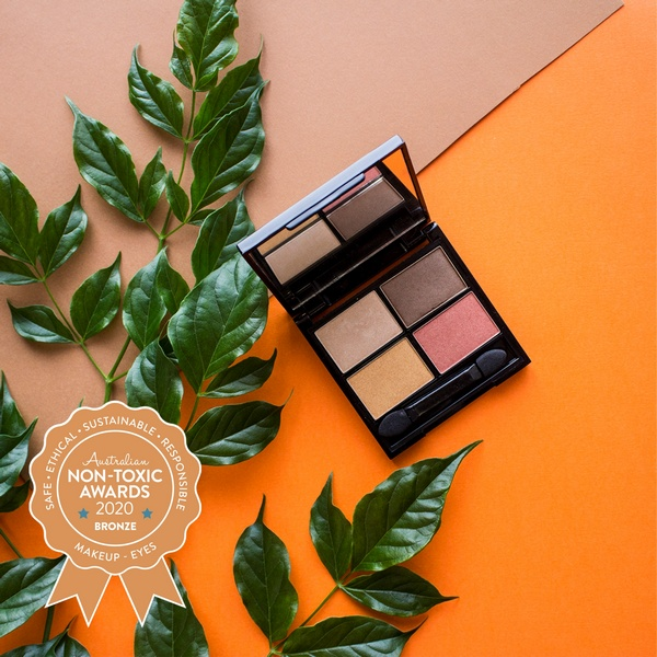 Bronze Winner Zuii Organic - Certified Organic Quad Eyeshadow Palette