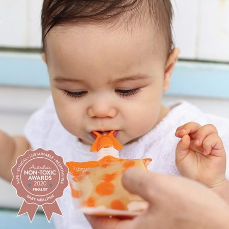 Cherub Baby - Reusable Baby Food Pouches