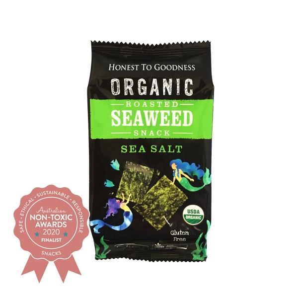 Honest to Goodness - Seaweed Snacks - Finalist - Australian Non-Toxic Awards 2020