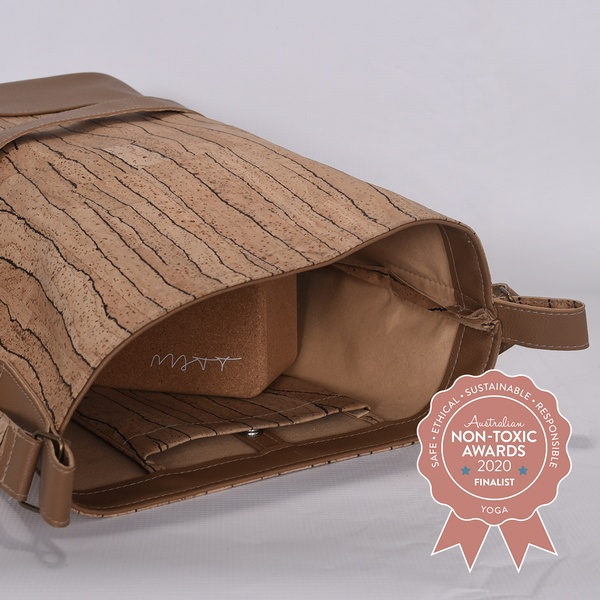 Meringa Cork - Natural Cork Yoga Bag
