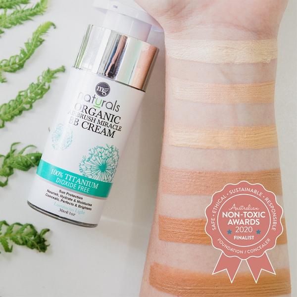 Finalist MG Naturals - Airbrush Miracle BB Cream