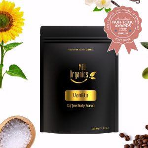 Finalist MiU Organics - Vanilla Coffee Body Scrub