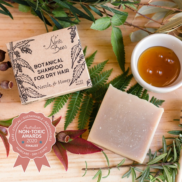 Finalist Nina's Bees - Botanical Shampoo For Dry Hair