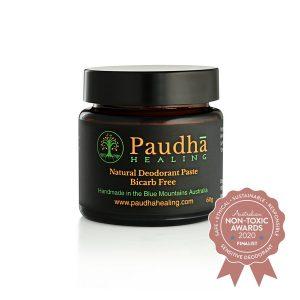 Paudha Healing - Natural Deodorant Paste - Bicarb Free