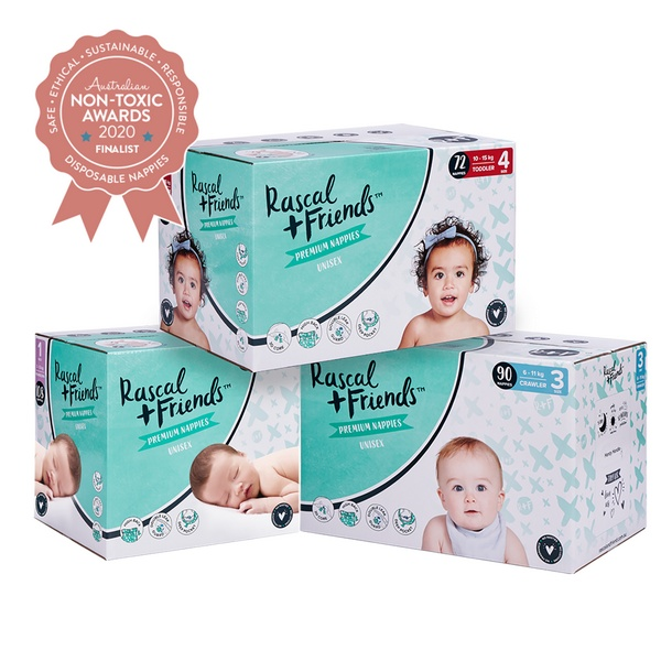 Rascal + Friends Premium Nappy