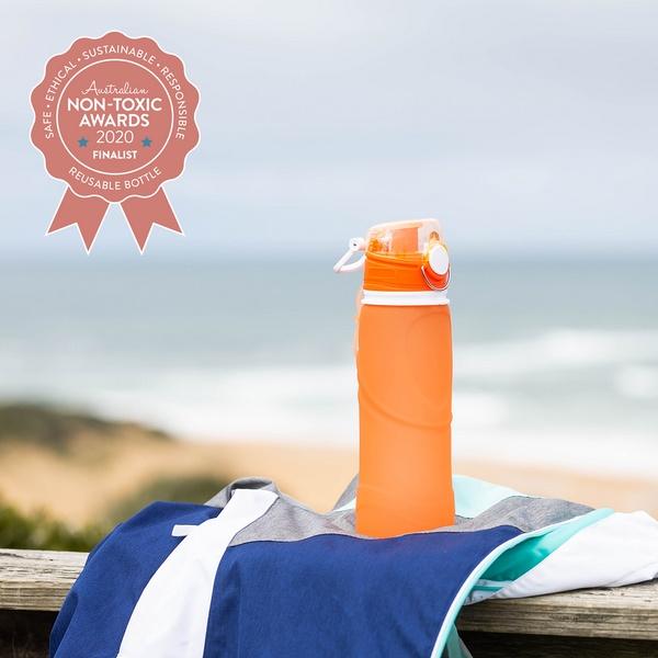 Silicone Wine Glasses Australia - Silicone Drink Bottle