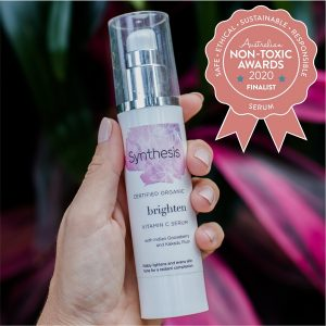 Synthesis Organics – Brighten Vitamin C Serum- Finalist - Australian Non-Toxic Awards 2020