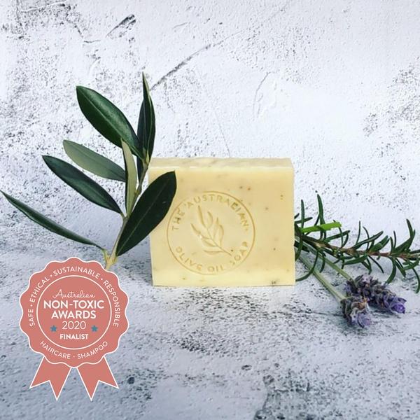 Finalist The Australian Olive Oil Soap - Argan Herbal Shampoo Soap Bar