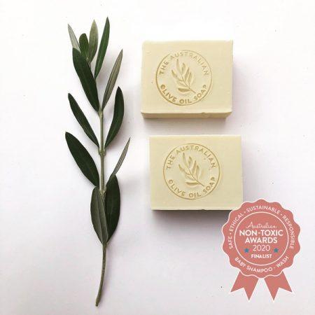 The Australian Olive Oil Soap - Goat Milk Castile 100% Olive Oil