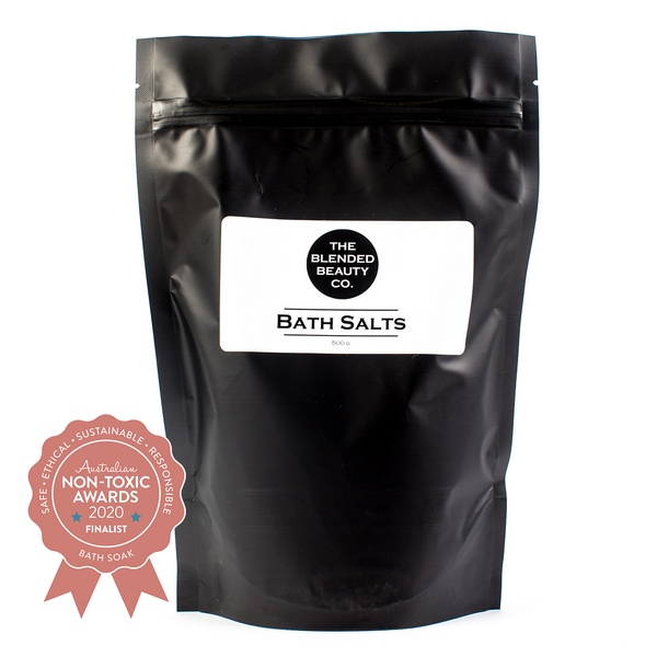 Finalist The Blended Beauty - Soothing Bath Salts with Essential Oils
