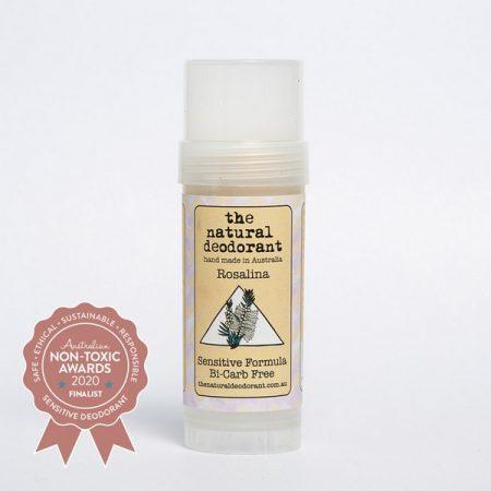 The Natural Deodorant - Bicarb Free Sensitive Skin Stick With Rosalina